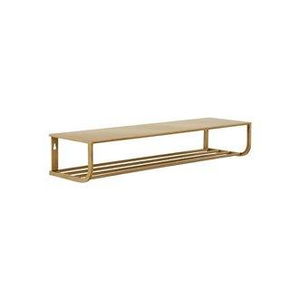 Nordal Metal shelf S - gold
