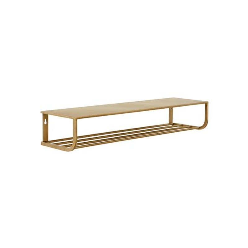 Nordal-collectie Metal shelf S - gold