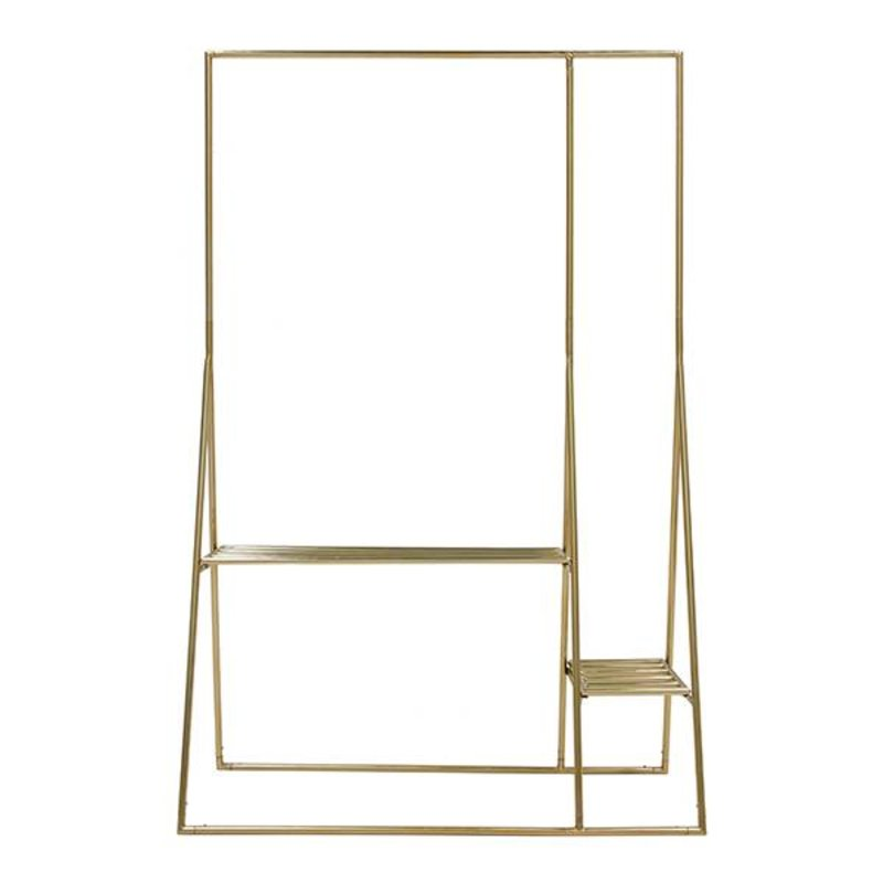 HKliving-collectie brass clothing rack