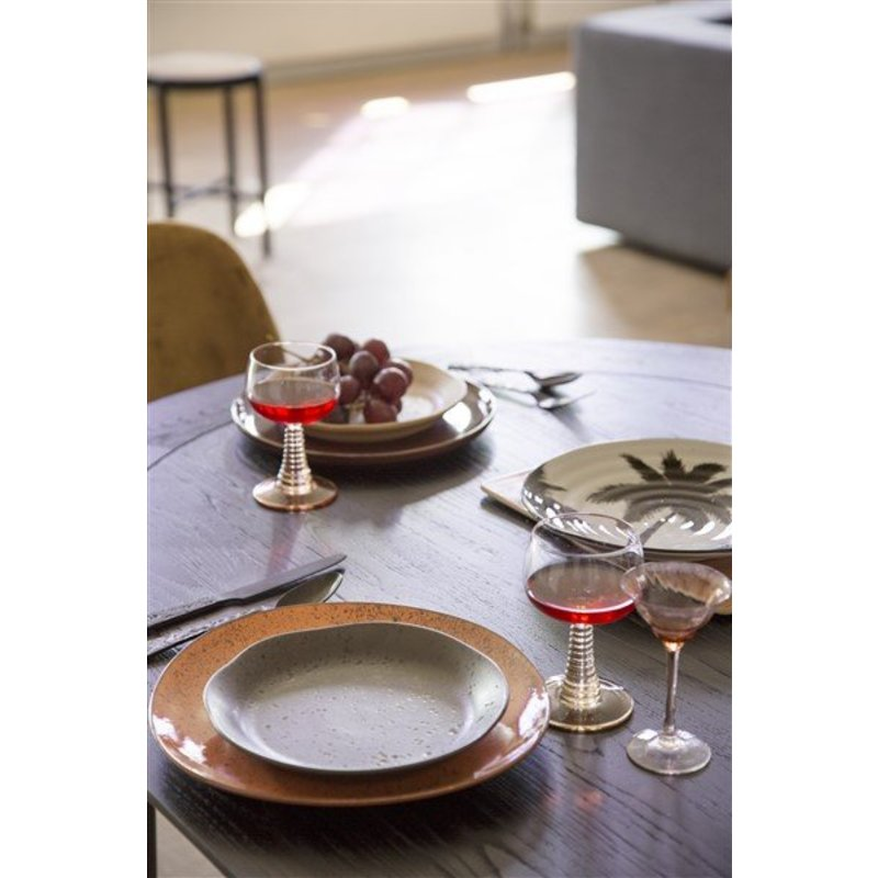 HK living-collectie matt black cutlery set of 3