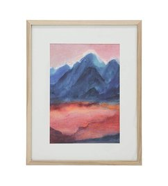HK living-collectie tiny art frame L: sunset