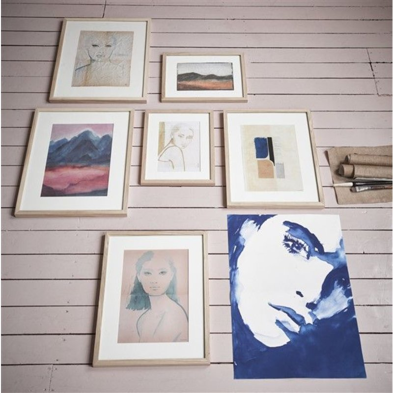 HK living-collectie tiny art frame S: mountains
