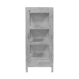 HK living small doctors cabinet grey