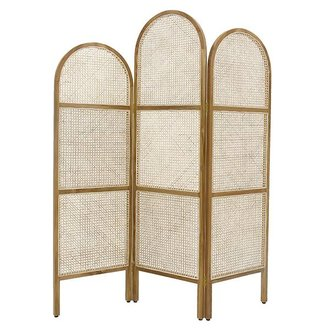 HK living webbing room divider natural