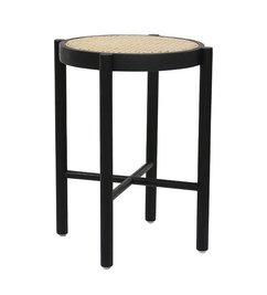 HK living  retro webbing stool black