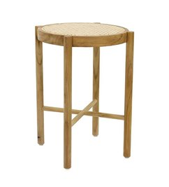 HK living  retro webbing stool natural