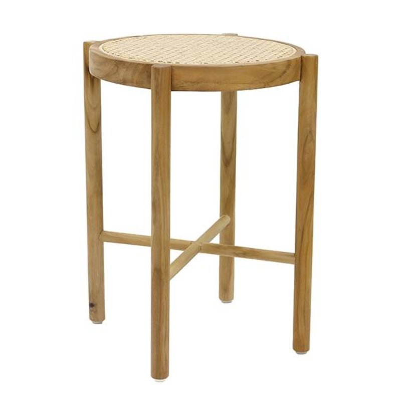 HKliving-collectie retro webbing stool natural