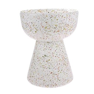 HKliving terrazzo side table
