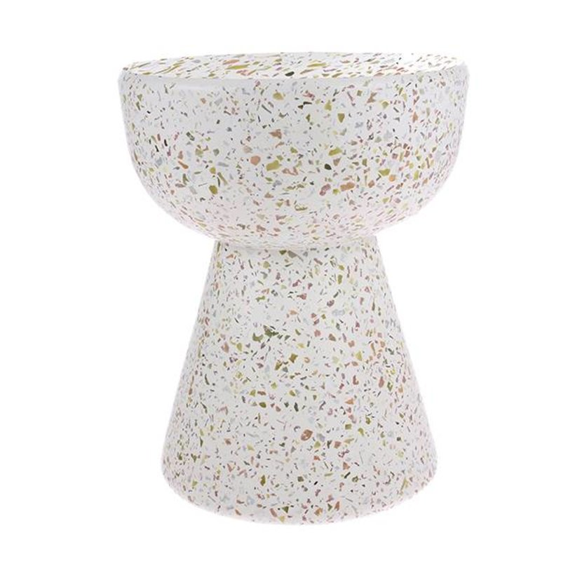 HKliving-collectie terrazzo side table