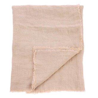 HKliving linnen table cloth salmon (140x220)