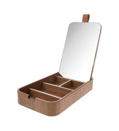 HK living  willow wooden mirror box