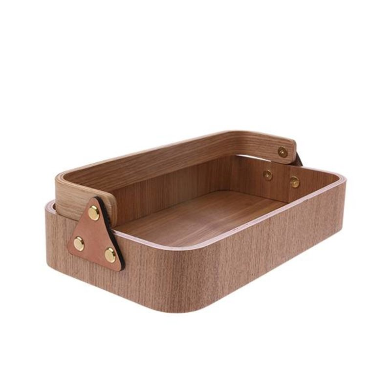 HKliving-collectie willow wooden box 1 handle