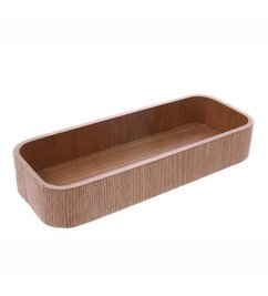HK living  willow wooden box L