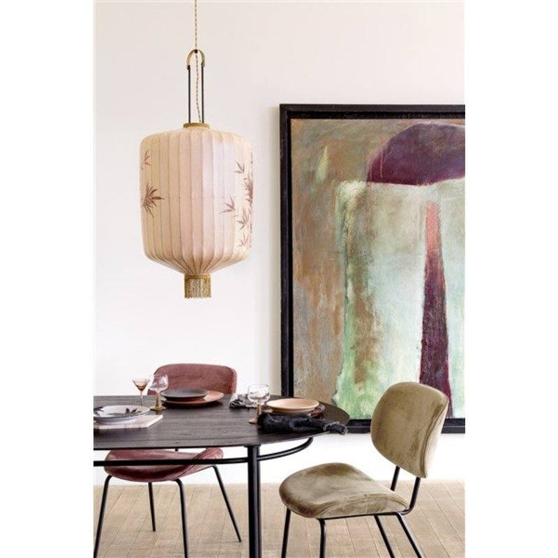 HKliving-collectie dining chair velvet nude