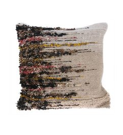 HK living-collectie woven wool viscose cushion (50x50)