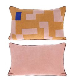 HK living  double-sided cushion stitched squares (60x35)