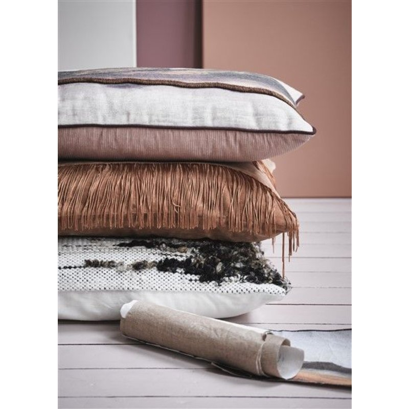 HK living-collectie double-sided cushion stitched landscape (60x35)