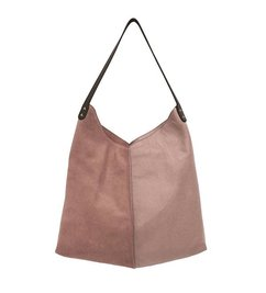 HK living-collectie leather bag old pink