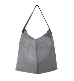 HK living  leather bag elephant grey