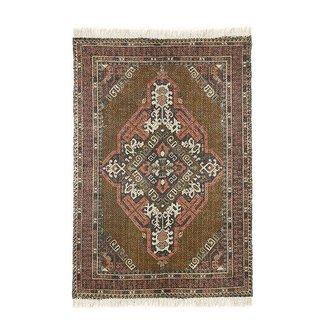 HK living printed cotton/jute rug stonewashed (120x180)