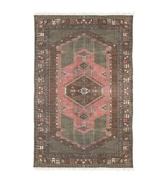 HK living-collectie printed cotton rug stonewashed (120x180)