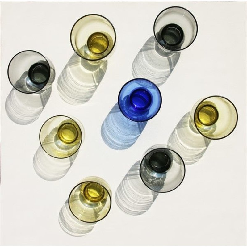 HKliving-collectie chartreuse glass M