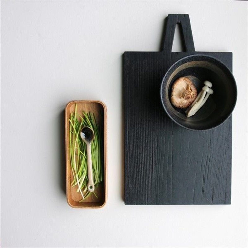 HKliving-collectie Theelepels kyoto keramiek - set van 4