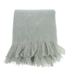 HK living  acrylic wool throw (125x150)