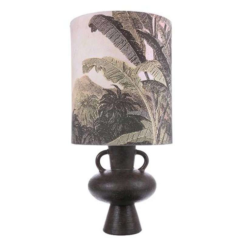HKliving-collectie printed jungle lampshade