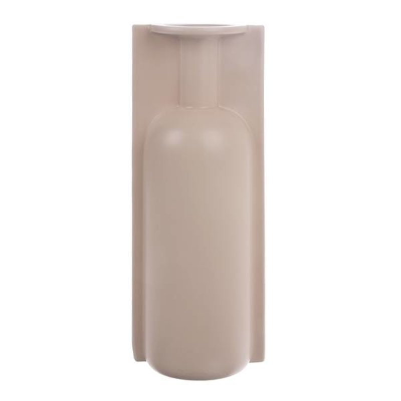 HKliving-collectie mold shape flower vase L matt skin