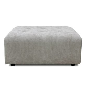 HKliving vint couch: element hocker, corduroy rib, crème