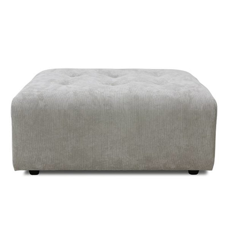 HKliving-collectie vint couch: element hocker, corduroy rib, crème