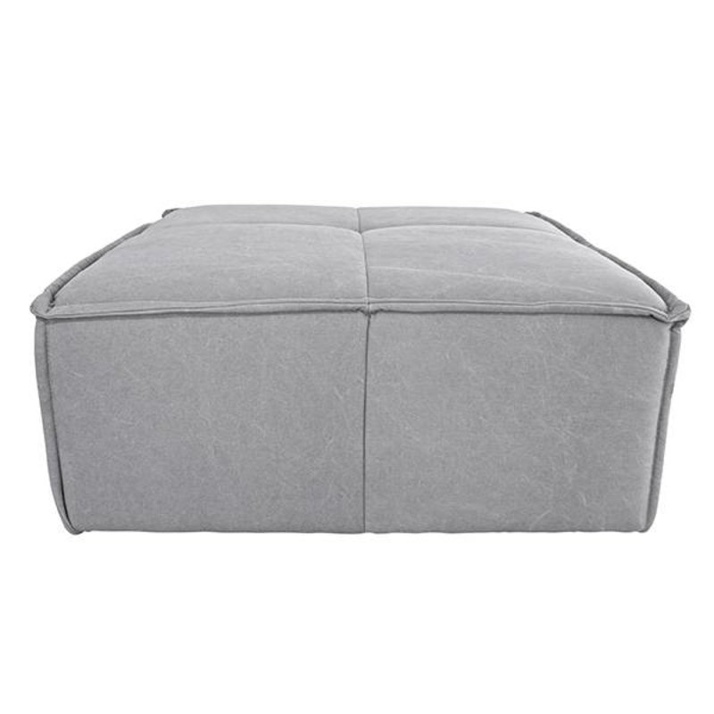 HKliving-collectie cube couch: hocker, canvas, light grey