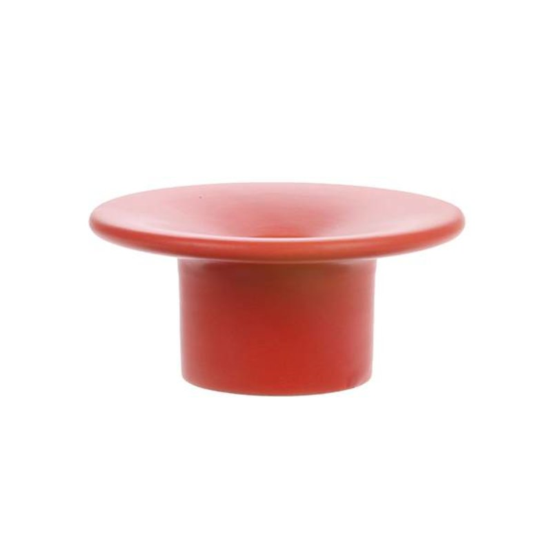 HK living-collectie candle stand matt red