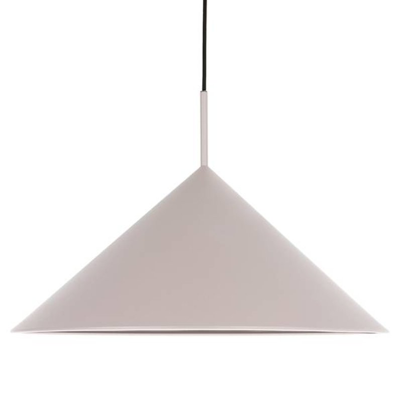 HK living-collectie metal triangle pendant lamp grey