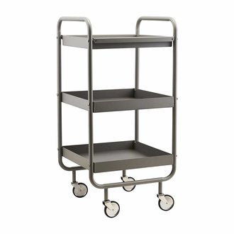 House Doctor Trolley Roll grijs