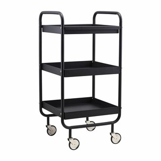 House Doctor Trolley Roll zwart