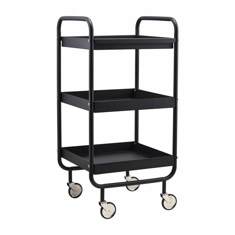 House Doctor-collectie Trolley Roll zwart
