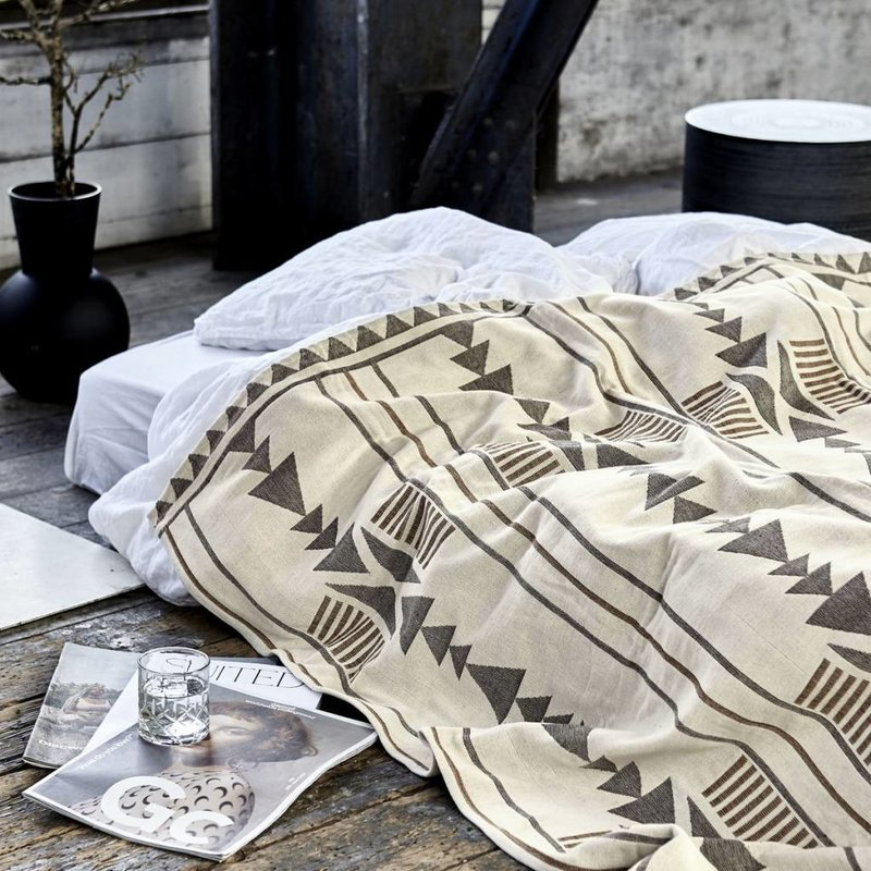 House Doctor-collectie Sprei  Tribe -S-