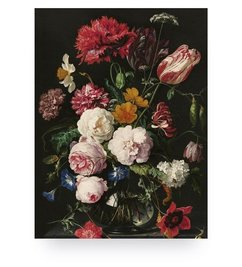 KEK Amsterdam-collectie Wood print Golden Age Flowers 2 M
