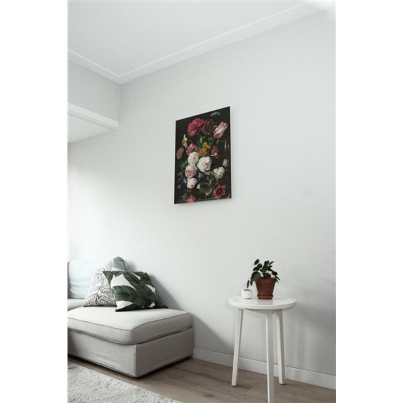 KEK Amsterdam-collectie Print op hout Golden Age Flowers 2 M