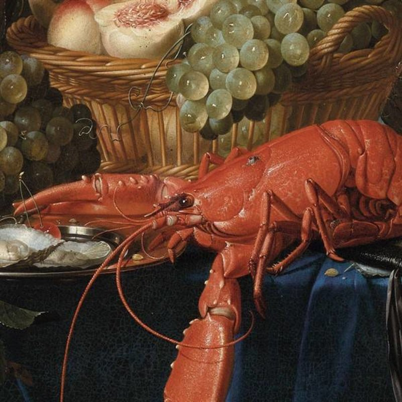 KEK Amsterdam-collectie Behangcirkel Lobster