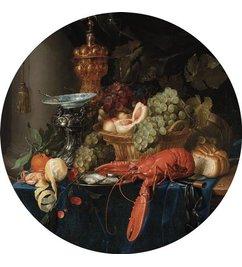 KEK Amsterdam Wallpaper Circle Lobster