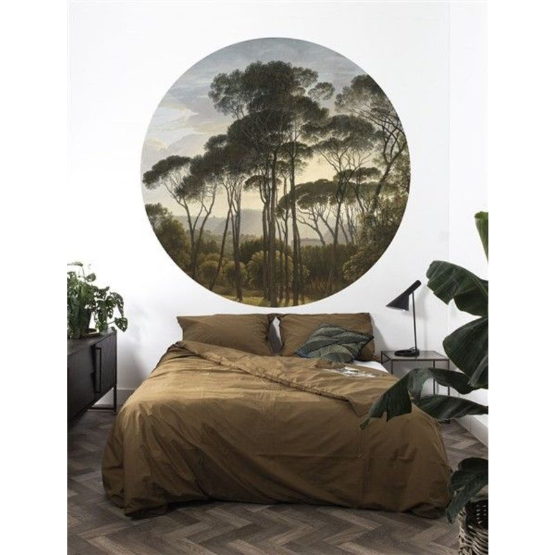 KEK Amsterdam-collectie Wallpaper Circle Golden Age Landscape