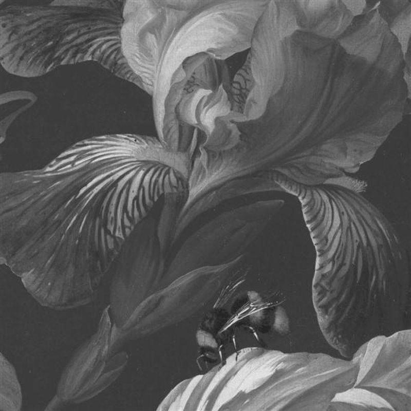 KEK Amsterdam-collectie Wallpaper Circle Golden Age Flowers