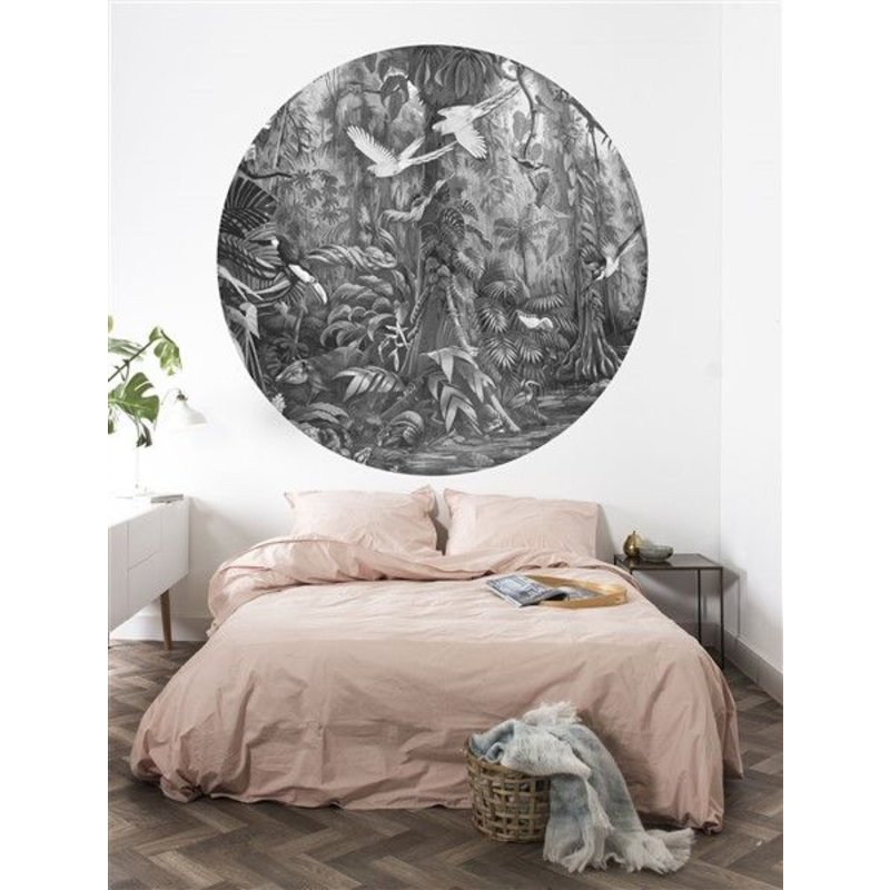 KEK Amsterdam-collectie Wallpaper Circle Tropical Landscape
