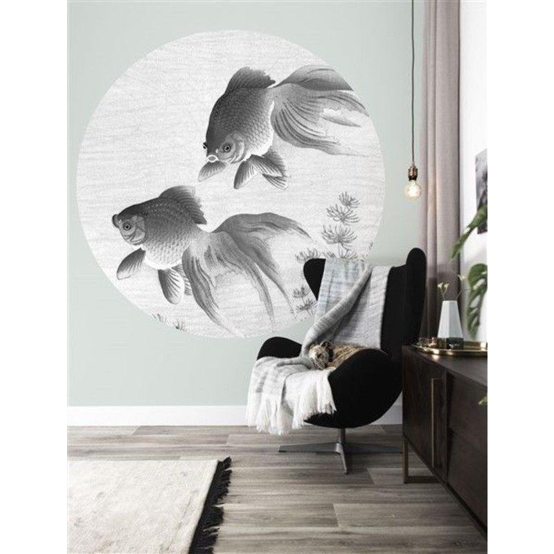 KEK Amsterdam-collectie Behangcirkel Goldfish