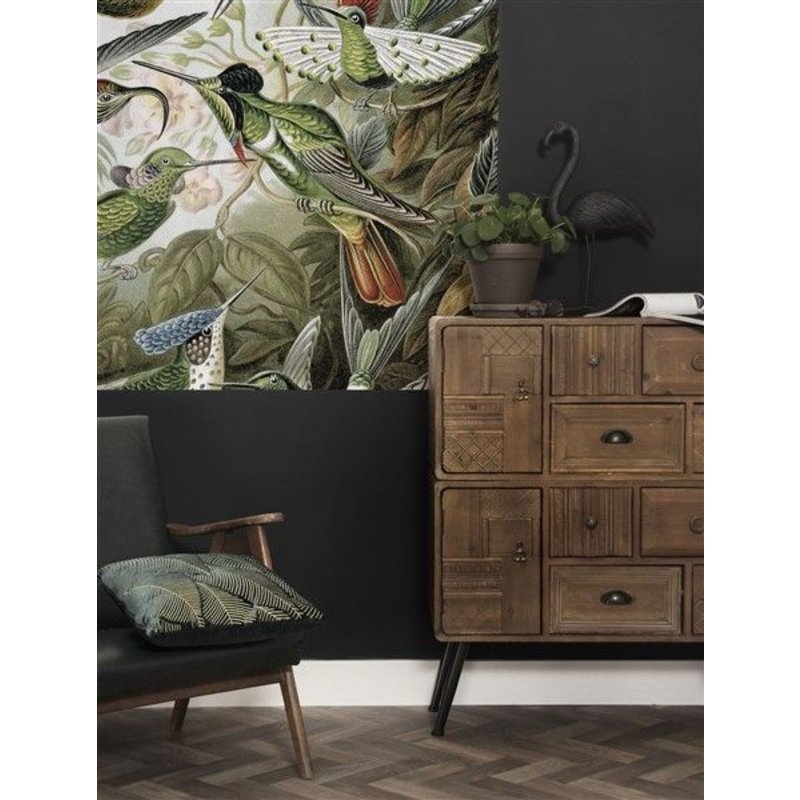 KEK Amsterdam-collectie Wallpaper Panel Exotic Birds