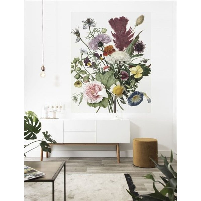 KEK Amsterdam-collectie Wallpaper Panel Wild Flowers