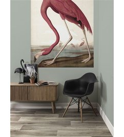 KEK Amsterdam-collectie Behangpaneel Flamingo